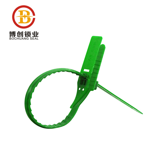 Onling shopping pull tight plastic seal lock for one time use