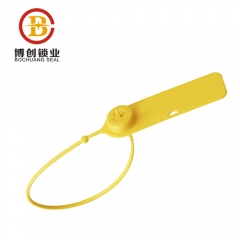 Pull tight tamper proof plastic seal for fire extinguisher